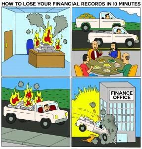 cartoon1howtoloseyourfinancialrecordsin10minutes